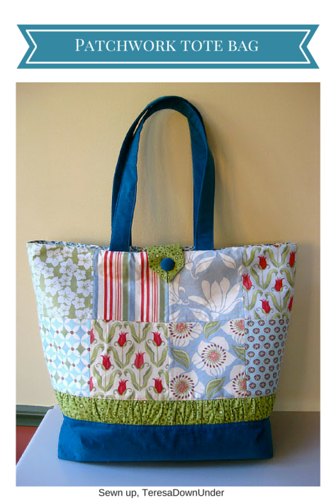 Patchwork tote bag tutorial