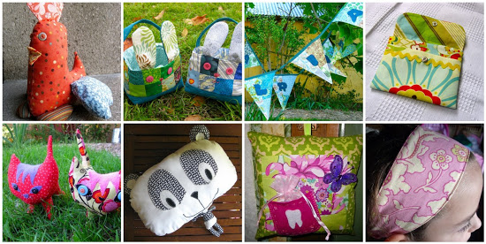 Sewing children toys and accessories round up