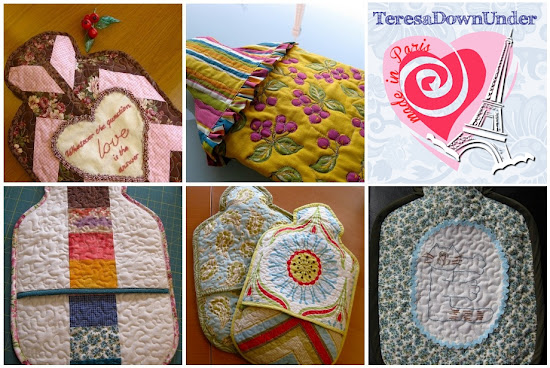 Hot water bottle cozies round up