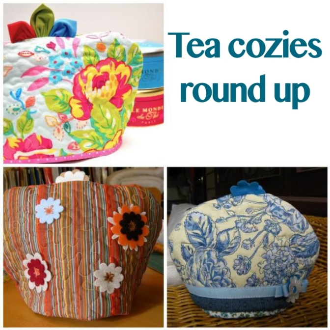 Quilted tea cozies round up