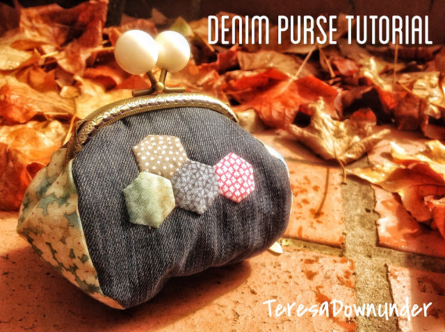 Denim purse tutorial