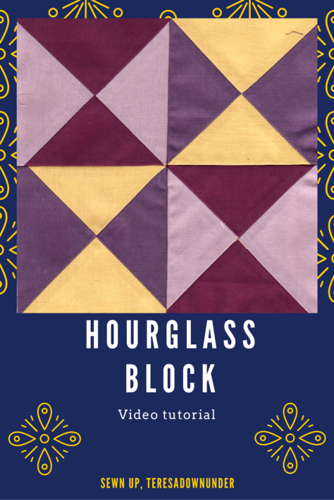 Video tutorial: hourglass block