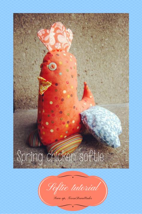 Chicken softie - free pattern