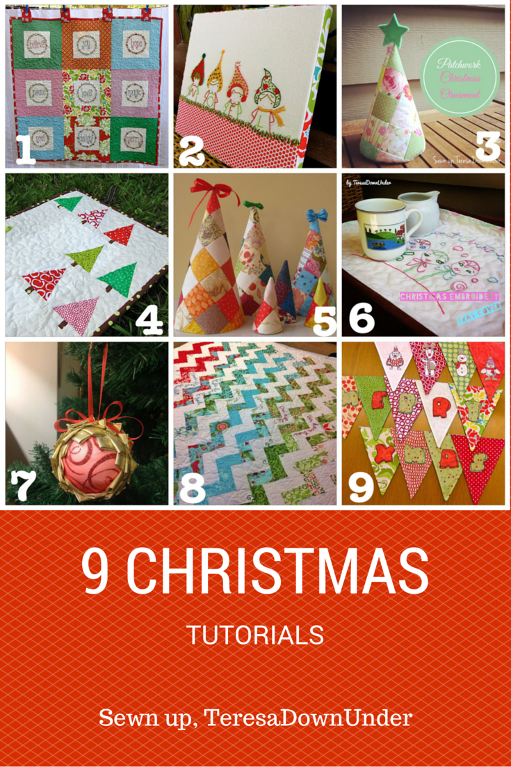 9 Christmas tutorials