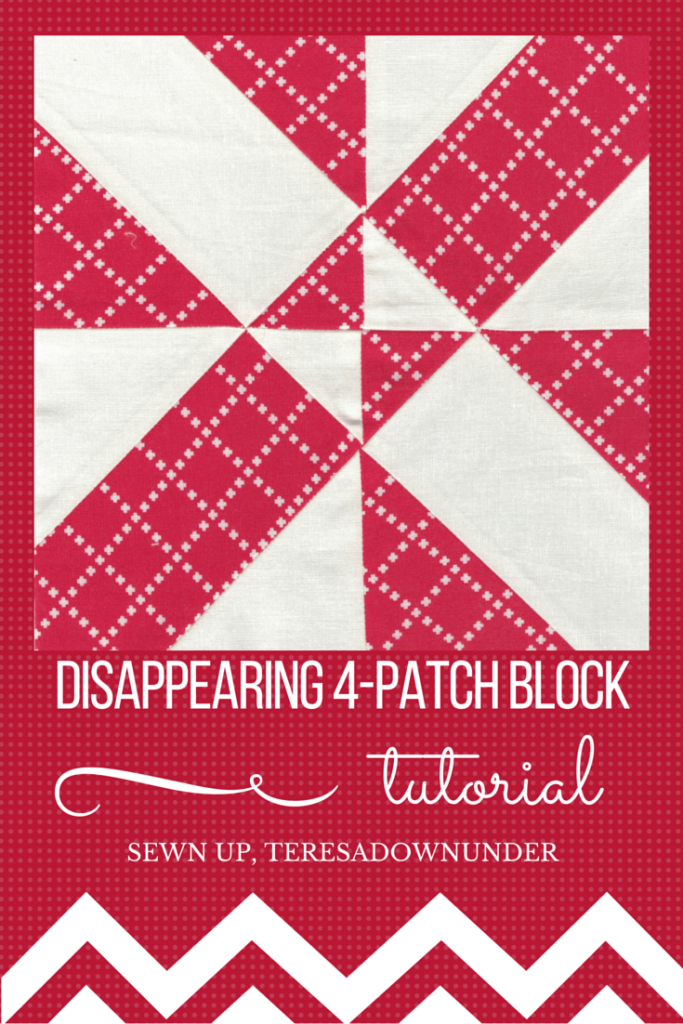Disappearing 4-patch quilt block