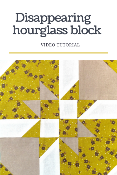 Disappearing hourglass block - video tutorial