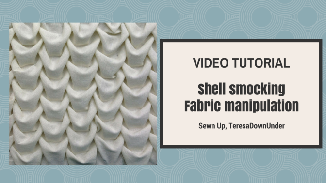 Video tutorial: shell smocking