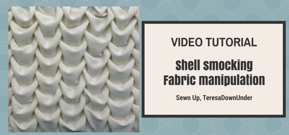 How to make shell smocking