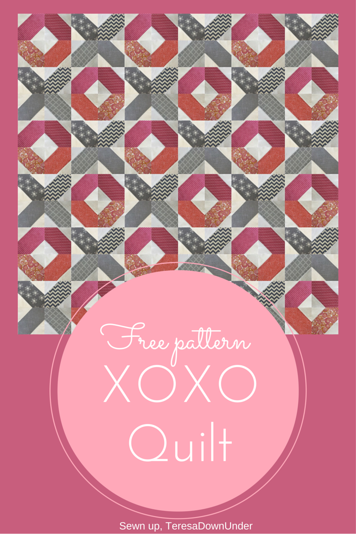 Xoxo Free Quilt Pattern Another Valentine S Day Project Sewn Up