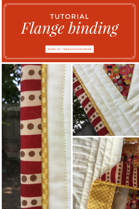 Video tutorial: Flange binding or adding faux piping to your quilt binding