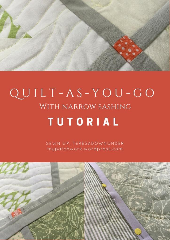 Quilt-as-you-go (QYAG) tutorial