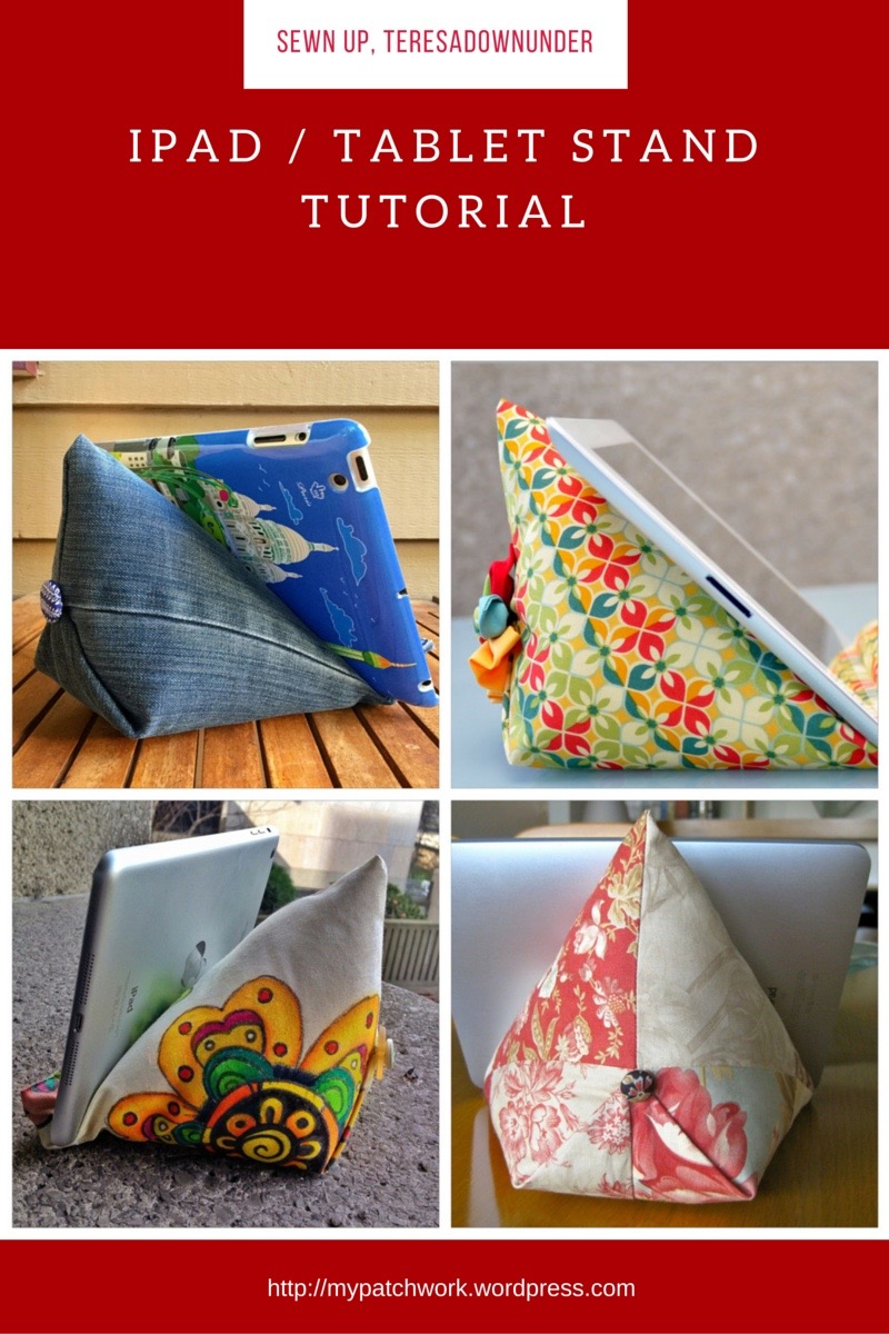 Make An Ipad Or Tablet Stand In 15 Minutes Sewn Up