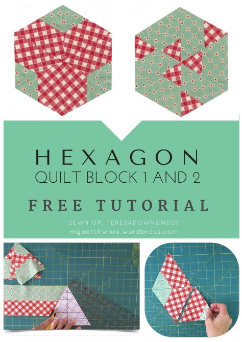 Video tutorial: Hexagon quilt block 1 and 2