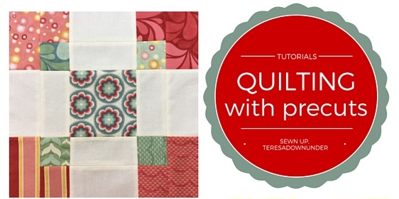 Quilting blocks made with precuts