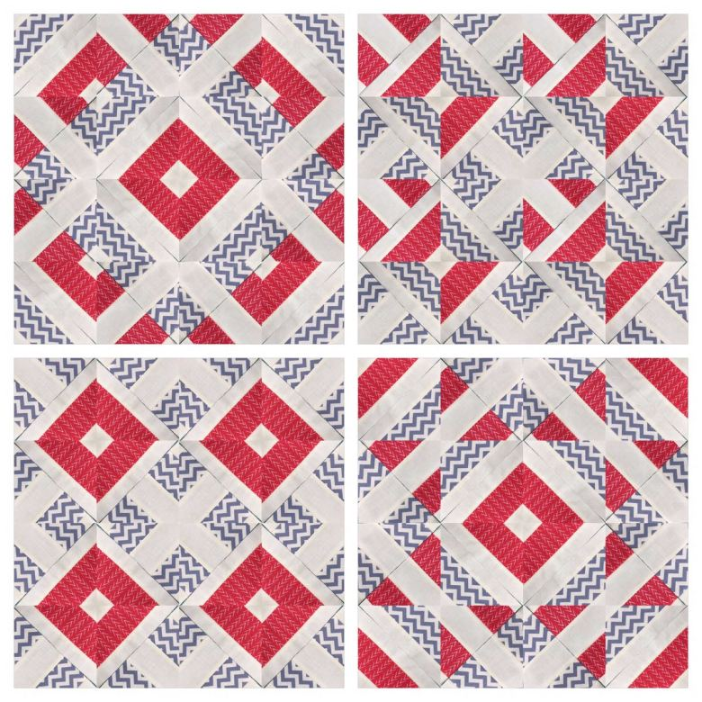 Quick and easy jelly roll quilt block 1 video tutorial