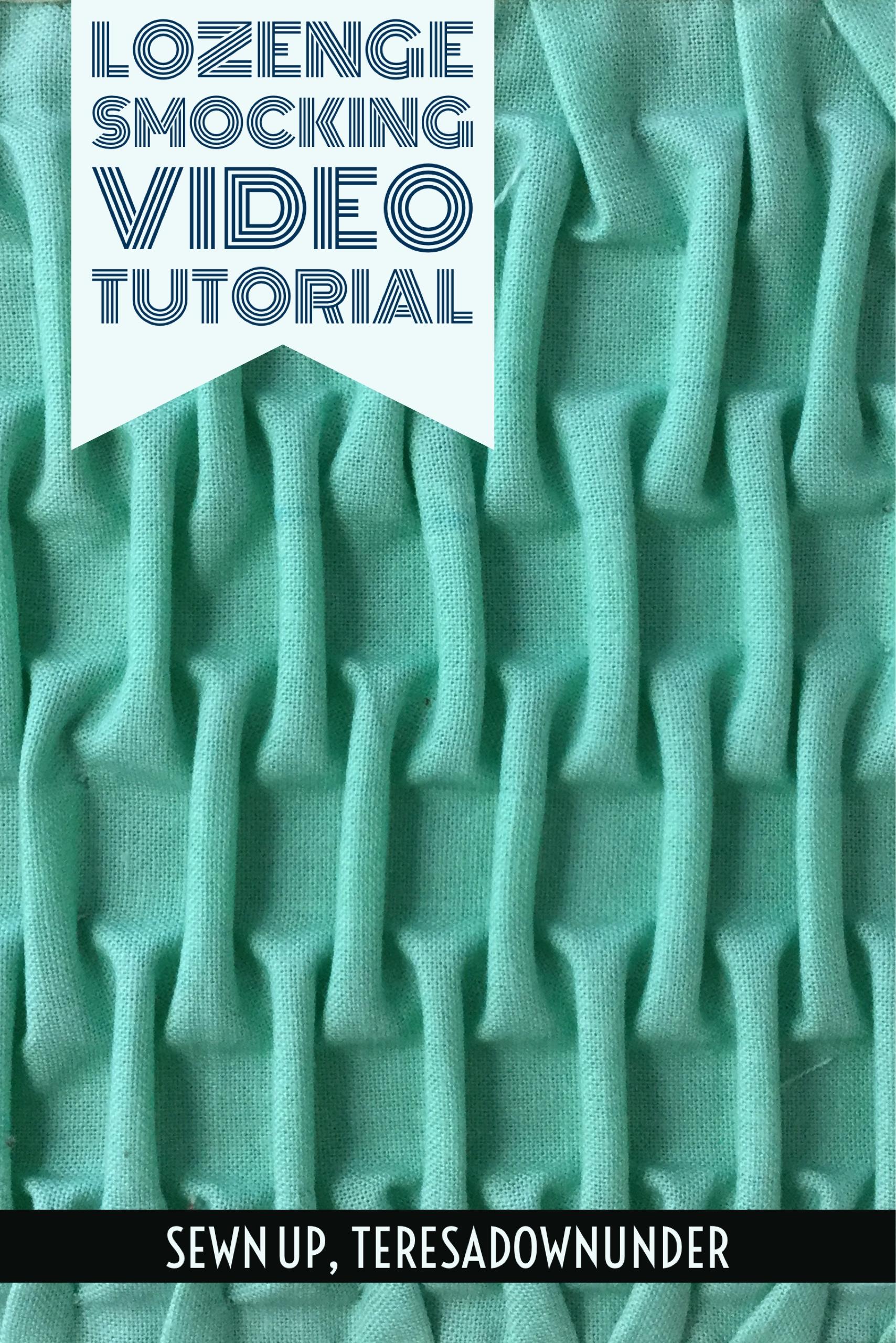 Video tutorial: Lozenge smocking | Sewn Up