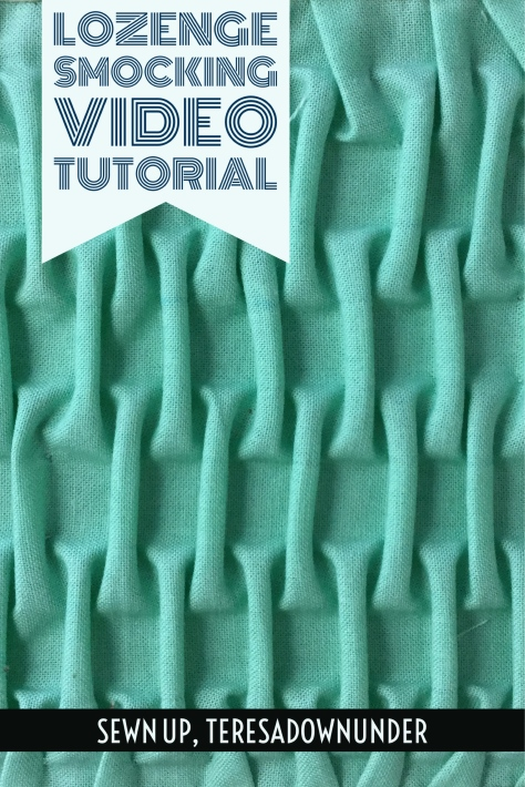 Video tutorial: lozenge smocking