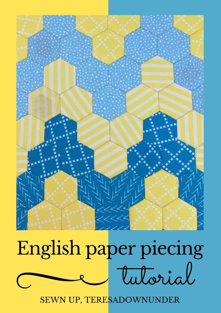 Video tutorial: English paper piecing (EPP) mini quilt