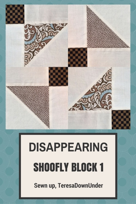 Video tutorial: Disappearing shoofly block - variation 1