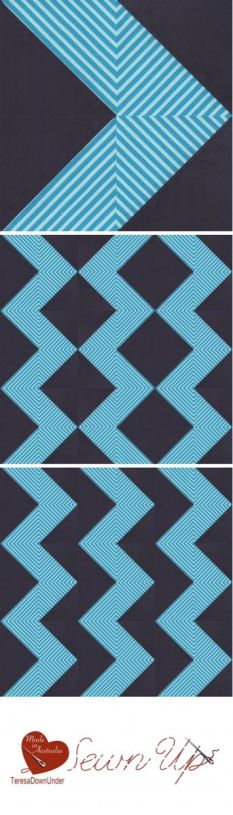 Playing with stripes and half square triangles video tutorial