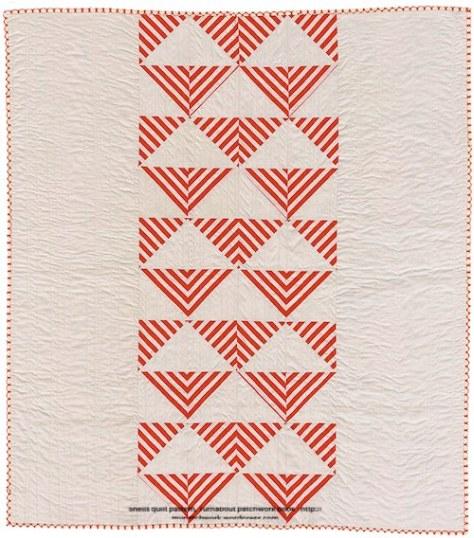 Shells quilt pattern - Turnabout patchwork book, Teresa Mairal Barreu
