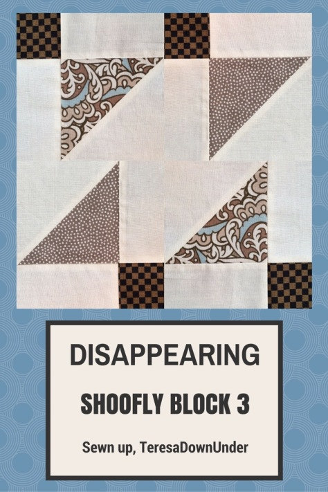 Video tutorial: disappearing shoofly block - variation 3