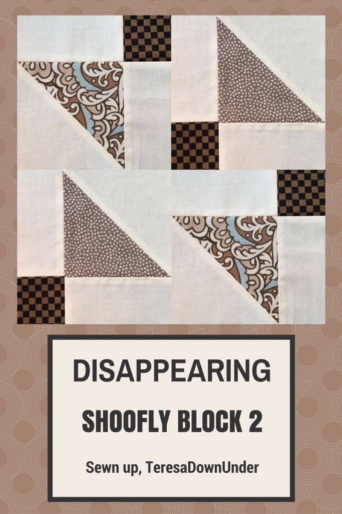Video tutorial: disappearing shoofly block - variation 2
