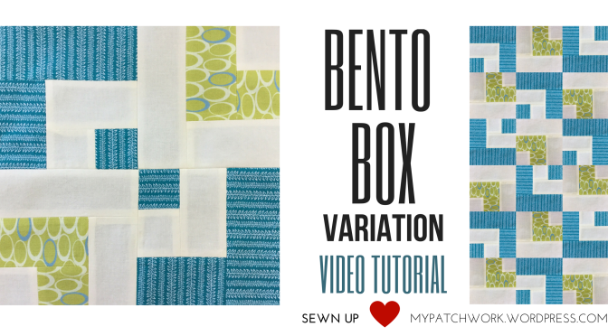 Video tutorial: Bento box quilt block variation – beginner's block