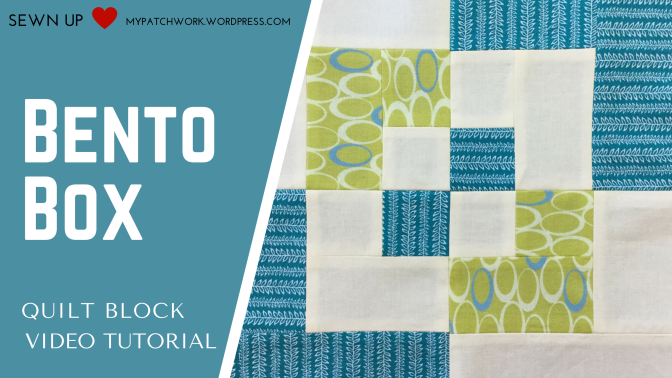 Video tutorial: Bento box quilt block – beginner's block