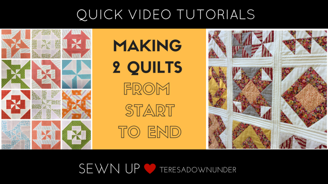 Making a quilt from start to end