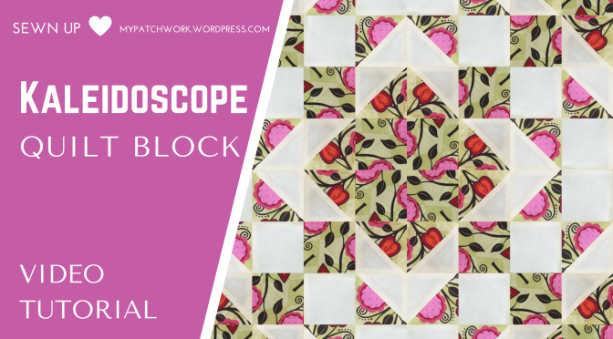 Video tutorial: Kaleidoscope quilt block – quick and easy quilting ... : kaleidoscope quilt block - Adamdwight.com