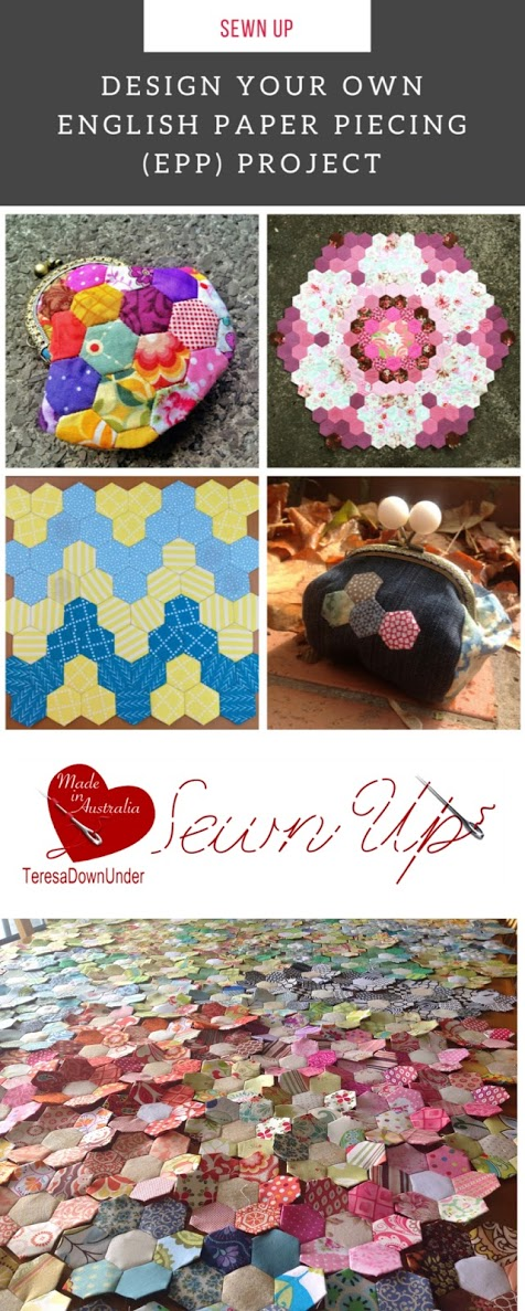 Design your own English Paper Piecing (EPP) project