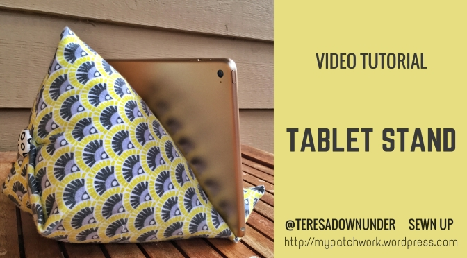 Video tutorial: tablet or iPad stand tutorial