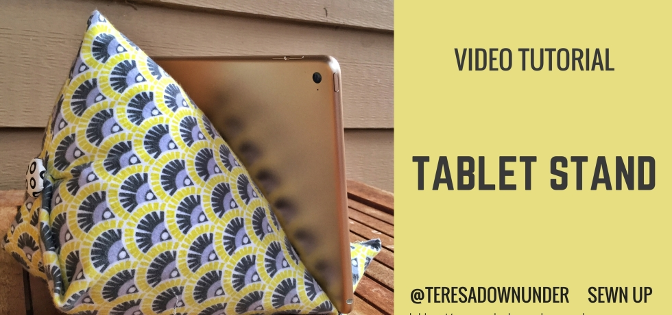 iPad / tablet stand video tutorial - quick and easy tablet holder
