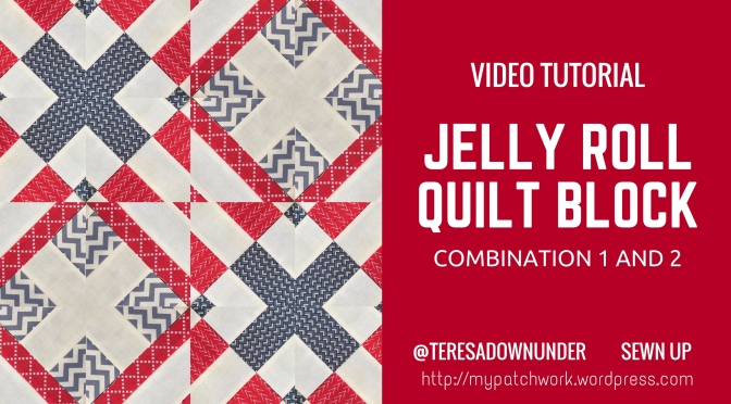 Video tutorial: quick and easy jelly roll 1 and 2 combination