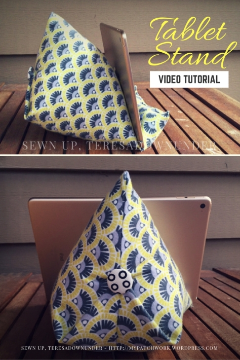 Video tutorial: quick and easy tablet stand - iPad holder