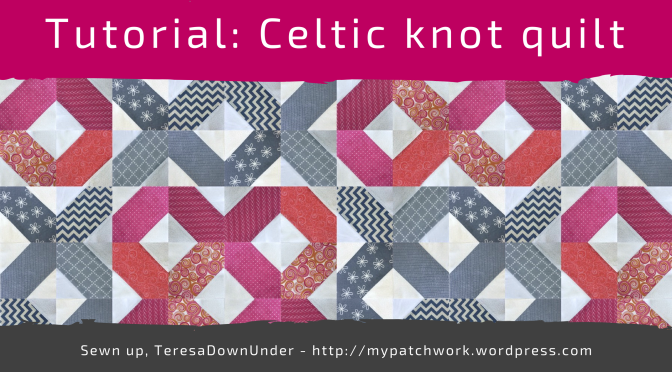 Free pattern: celtic knots quilt