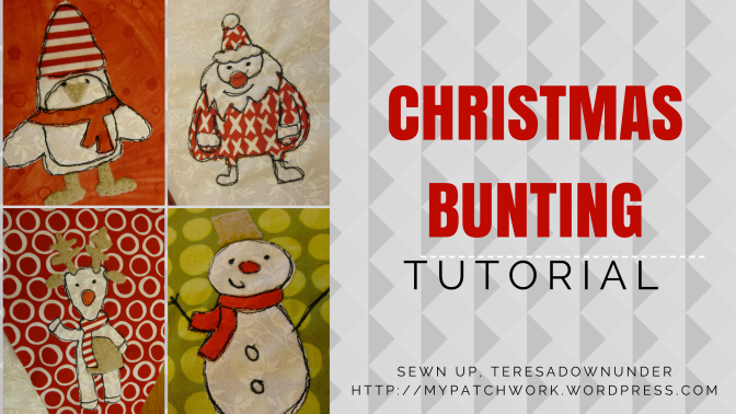 Tutorial: Merry Christmas bunting