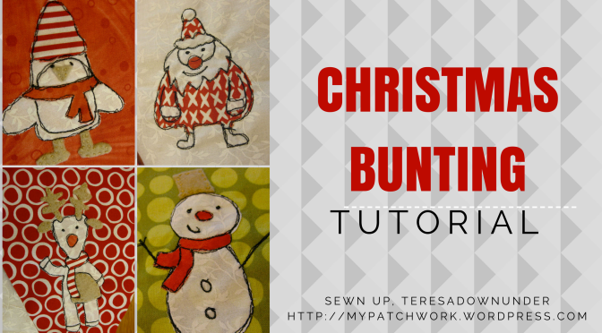 Tutorial: Christmas bunting