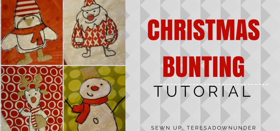 Tutorial: Christmas bunting