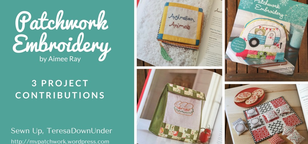 Patchwork Embroidery book