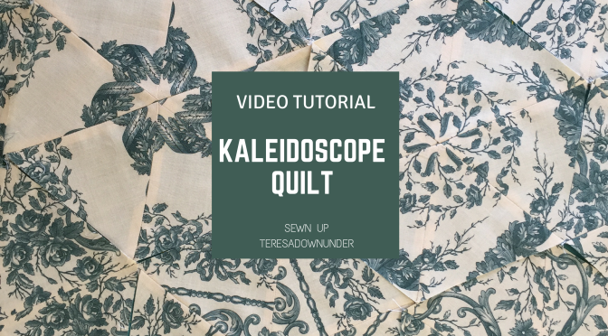 Video tutorial: kaleidoscope quilt