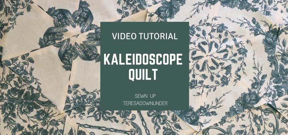 Video tutorial: kaleidoscope quilt