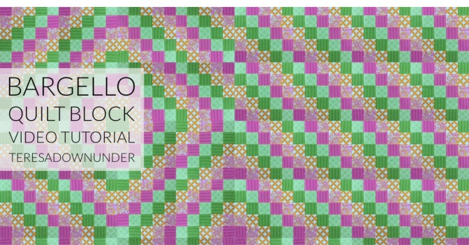 Video tutorial: Quick and easy bargello quilt block