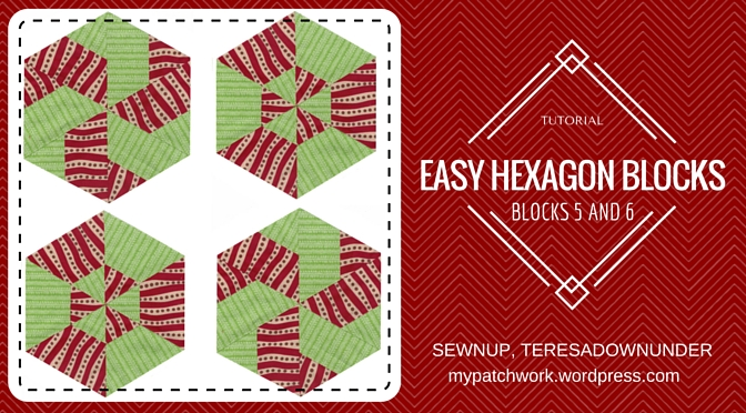 Video tutorial: Hexagon quilt blocks 5 and 6