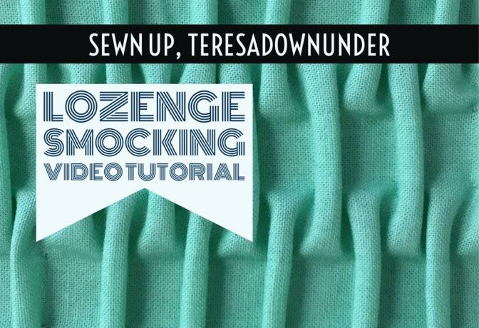 Video tutorial: Lozenge smocking