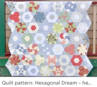 Hexagonal dream quilt Pattern