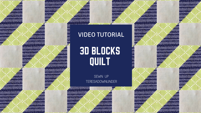 Video tutorial: optical illusion – 3D steps block