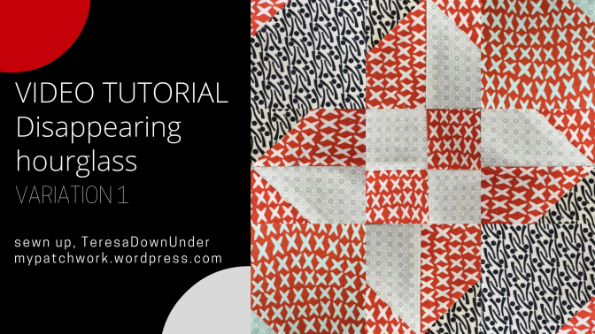 Tutorial: Disappearing hourglass variation 1