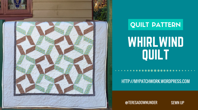 Whirlwind quilt pattern – PDF download